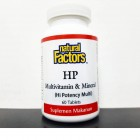Natural Factors HP Multivitamin Mineral 60 tabs