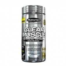 Clear Muscle Muscletech 168 caps