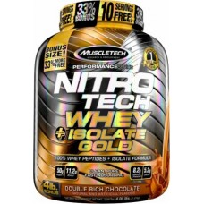 Nitrotech Whey Isolate Gold Muscletech 4 lbs